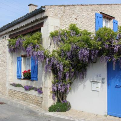 Bleu comme ... cette maison charentaise (Royan)