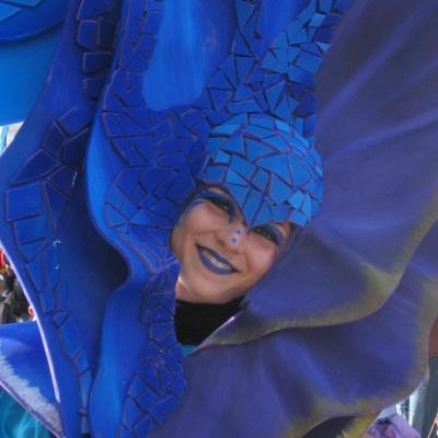 Bleu comme ... les déguisements du carnaval de Nice