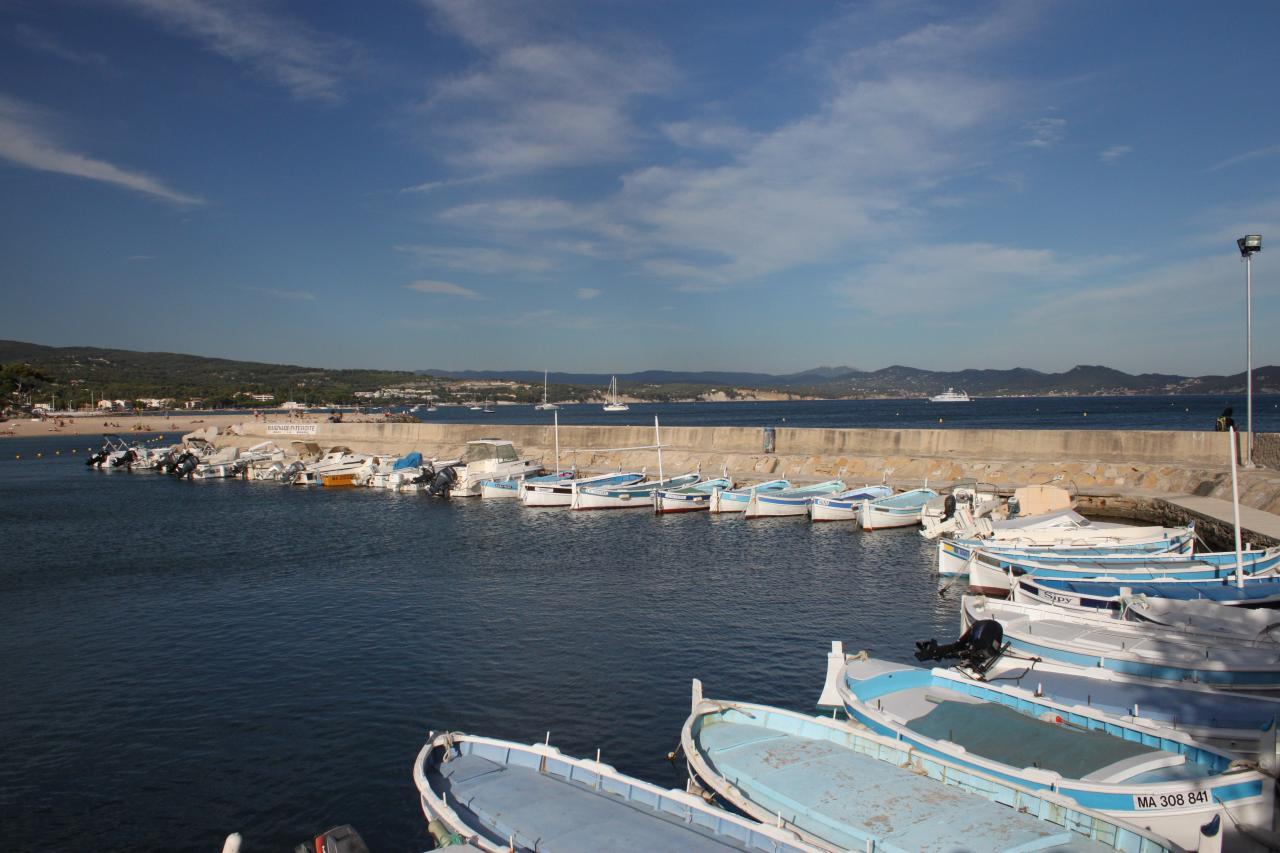 Bleu comme ... les barques de Bandol