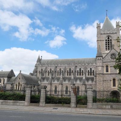 Christ Church ou cathédrale de la Sainte-Trinité de Dublin