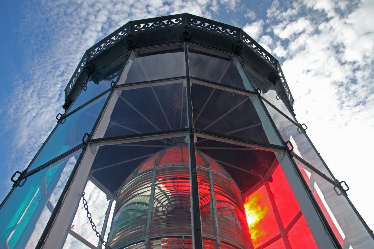 Bleu comme ... la lanterne du phare de Cordouan