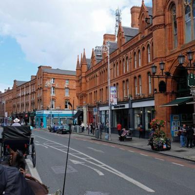 Dame Street regroupe la plupart des banques de Dublin