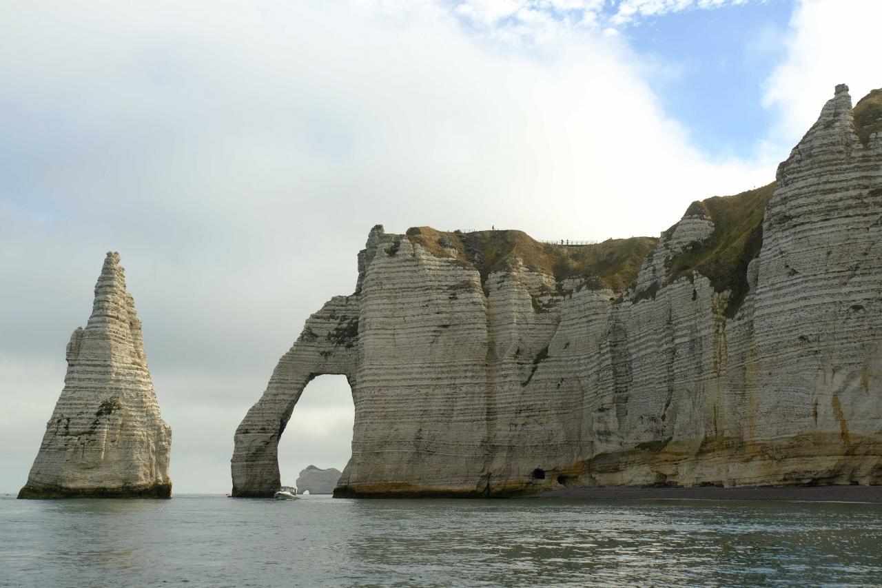 """""""le mammouth"""" dans l'arche d'Aval"""