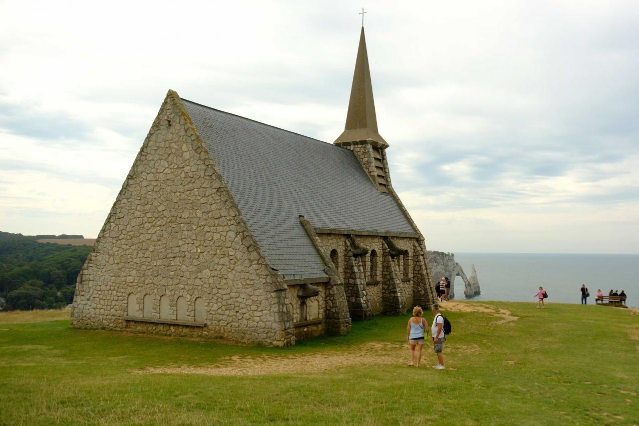 la Chapelle Notre-Dame-de-la-Garde (1854) érigée en l'honneur des marins