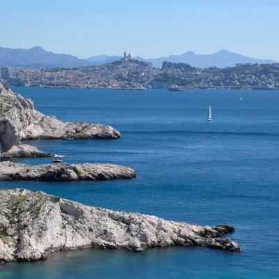 Les îles du Frioul, face à Marseille