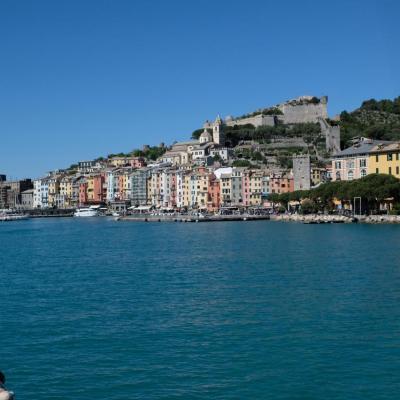 Portovénère à la sortie du golfe de la Spezia (le golfe des poètes)