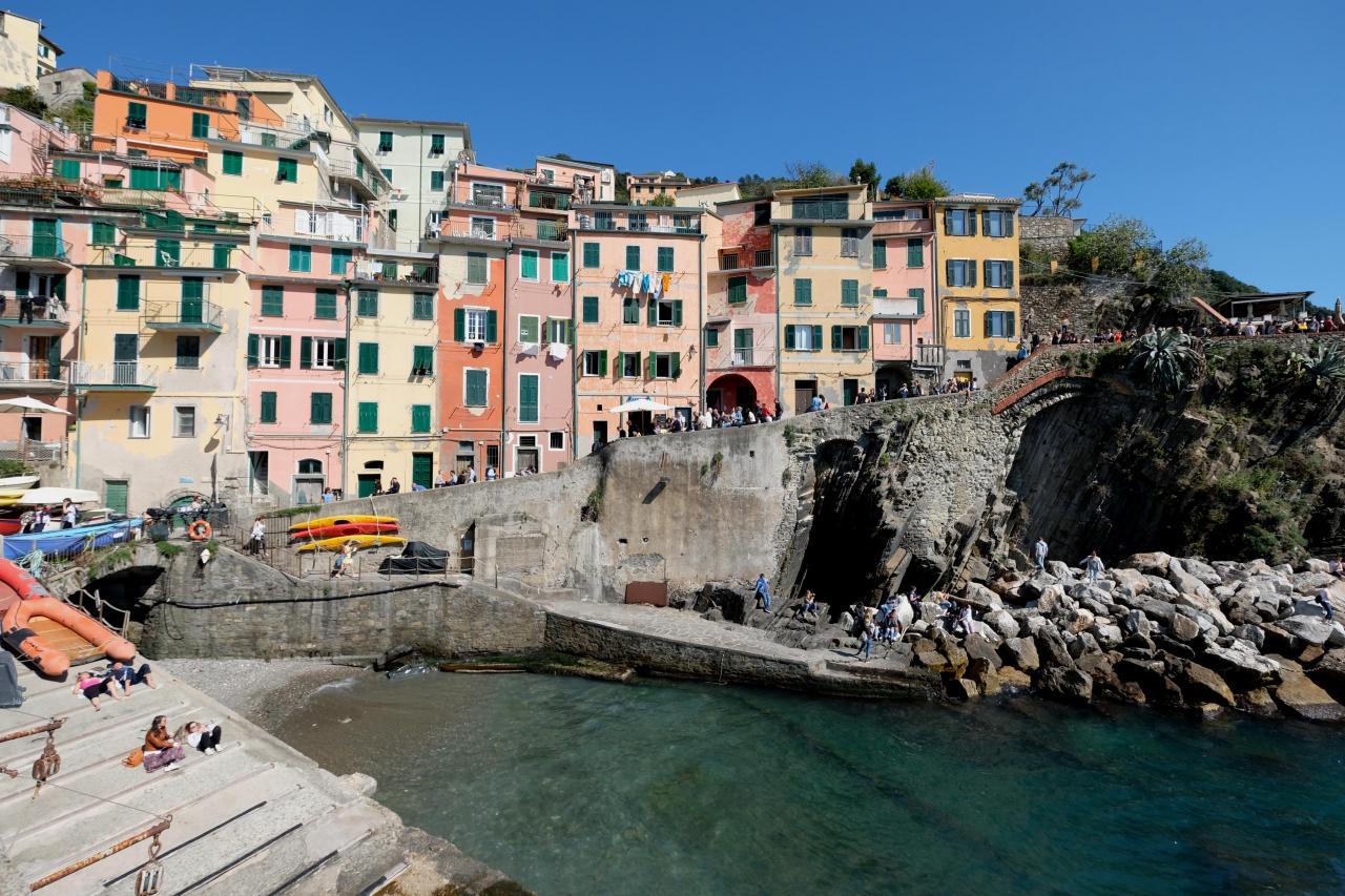 le petit port de Riomaggiore