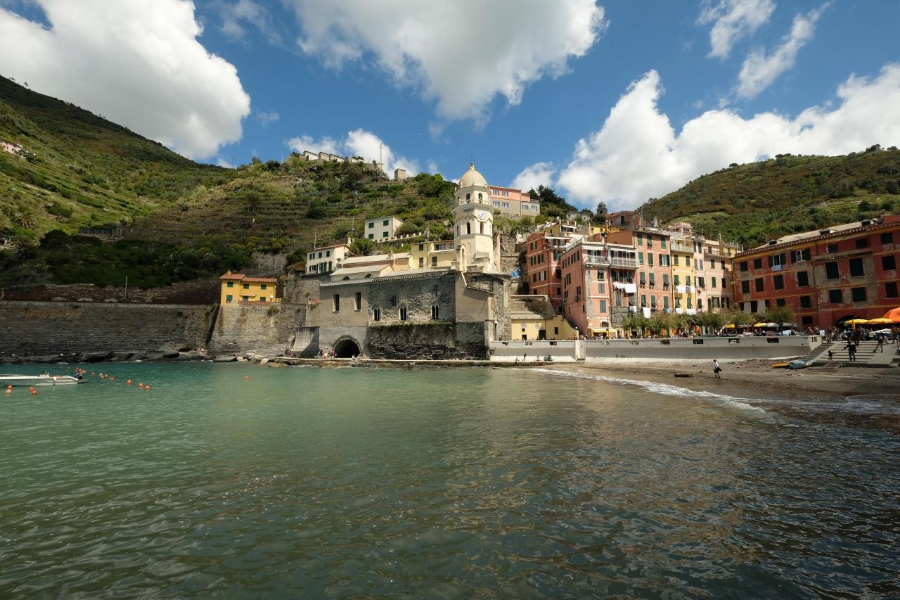 Vernazza, le plus pittoresque