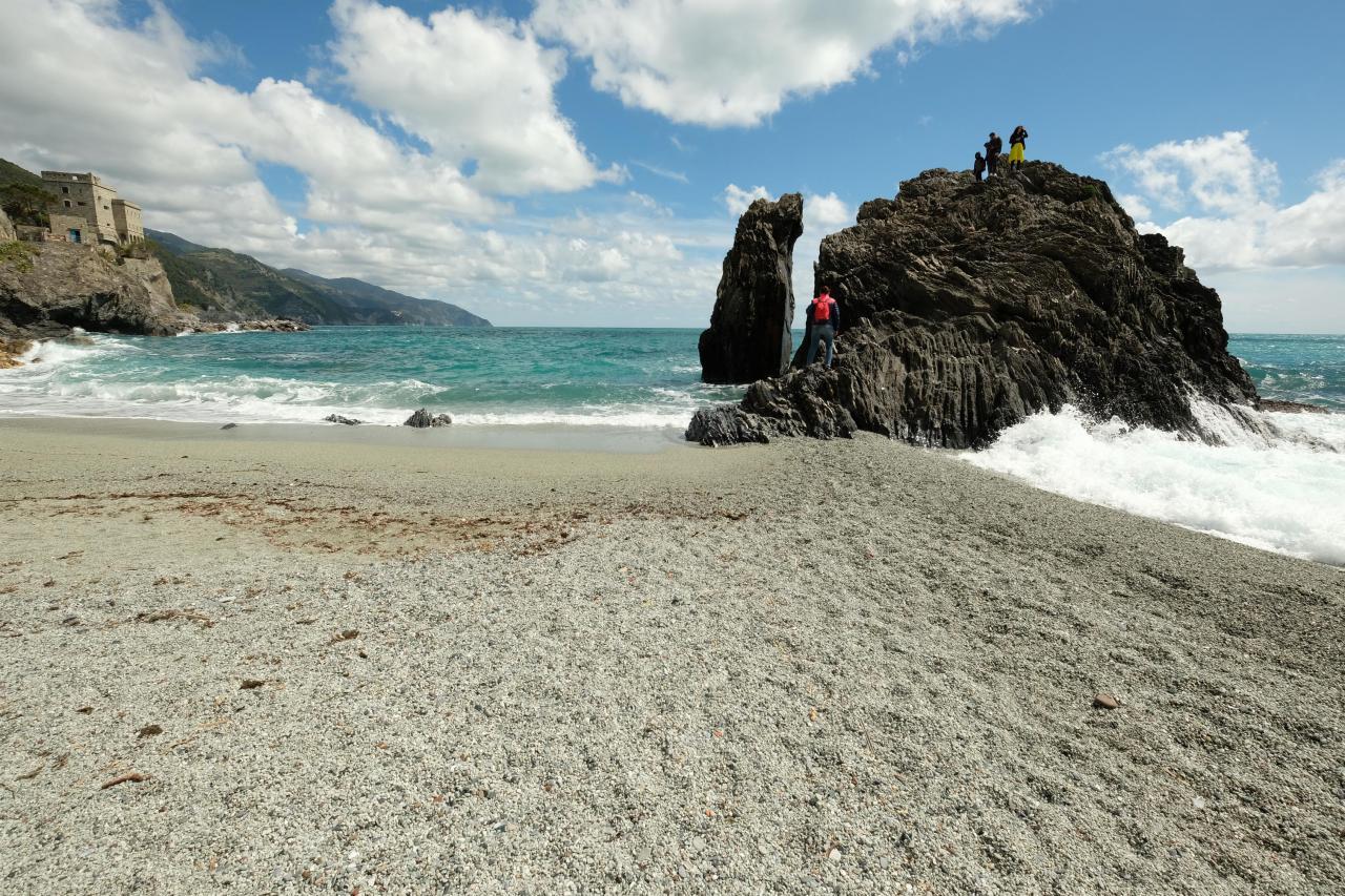 le rocher fendu de Monterosso