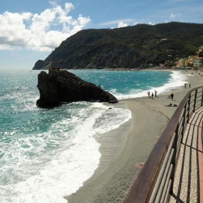 balade inévitable sur la promenade qui longe la plage