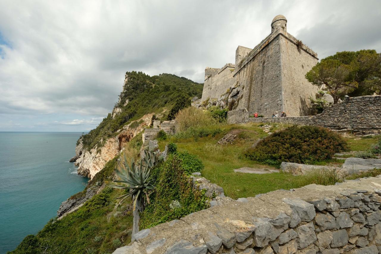 le fort n'est pas visitable mais la vue est remarquable