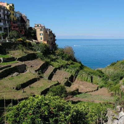 Corniglia est le seul village qui n'a pas de port et non relié à la mer