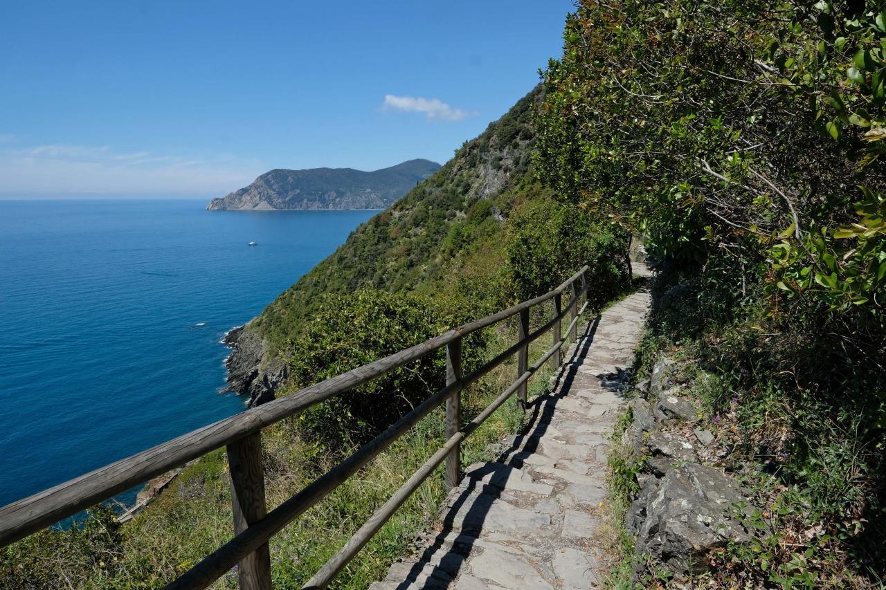 Corniglia - Vernazza : 3, 2 kms mais ça monte raide parfois !!