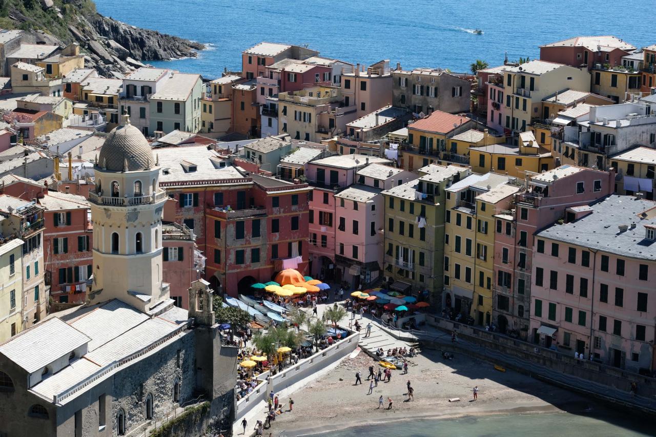 la plus belle vue sur Vernazza