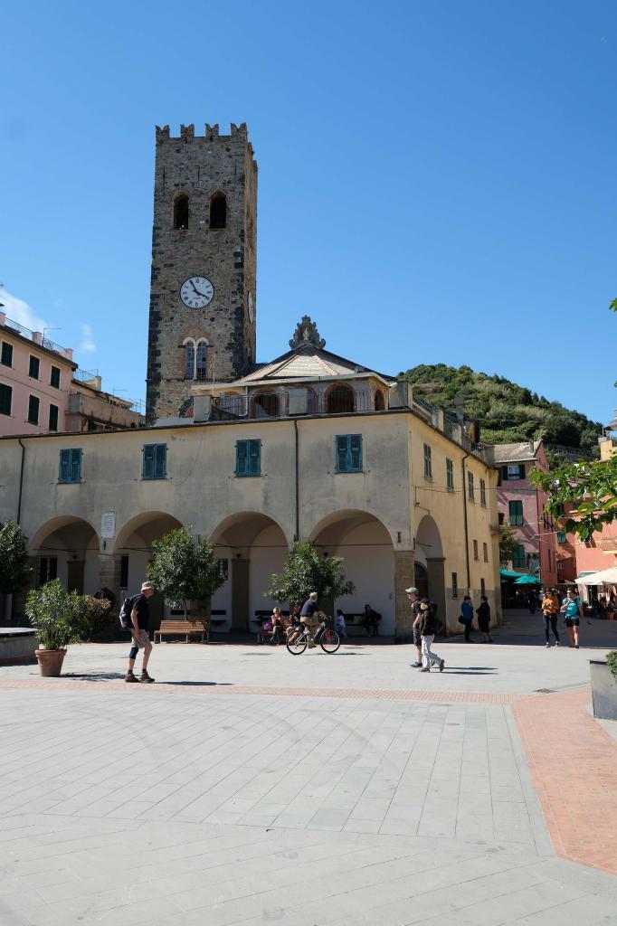 Monterosso est la plus grosse localité des Cinque terre
