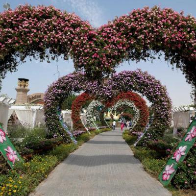 plus de 45 millions de fleurs réparties sur 72 000 mètres carrés
