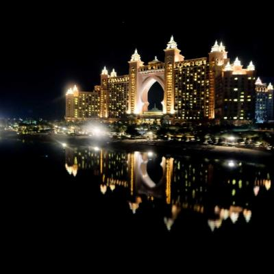 L'hôtel Atlantis vu du monorail