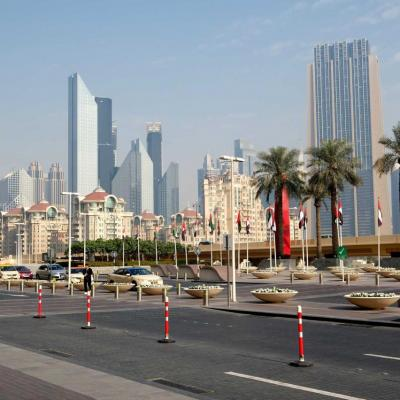 la Burj Khalifa est derrière moi !
