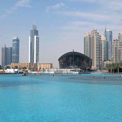 l'opéra de Dubaï récemment terminé peut accueillir 2000 personnes