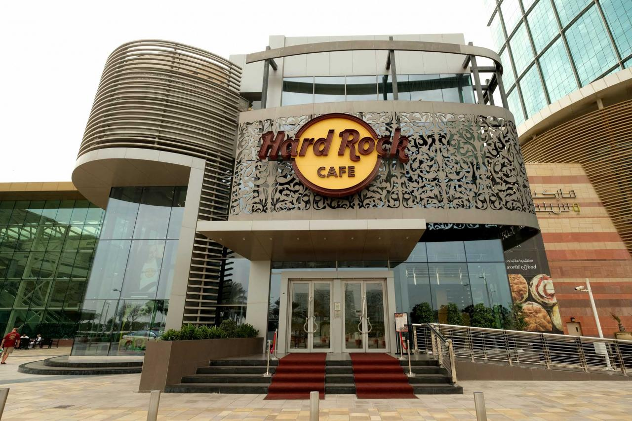 Le Hard Rock Cafe Dubaï au Festival Center, Dubai Festival City