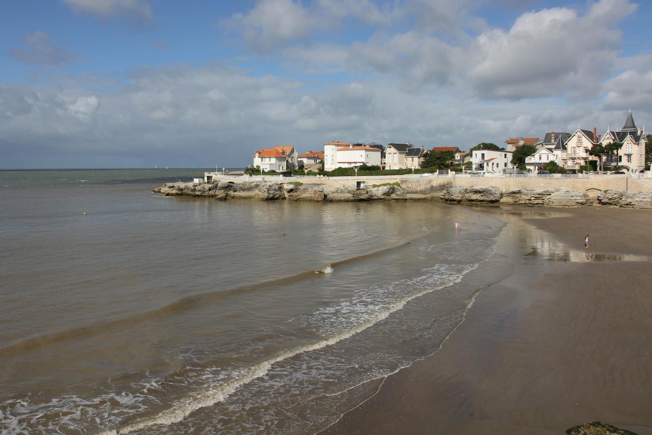 la plage du Chaix à Royan