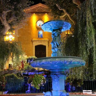 Bleu comme ... les fontaines de Bandol (Var)