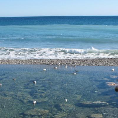 Bleu comme ... les couleurs de la mer à Menton