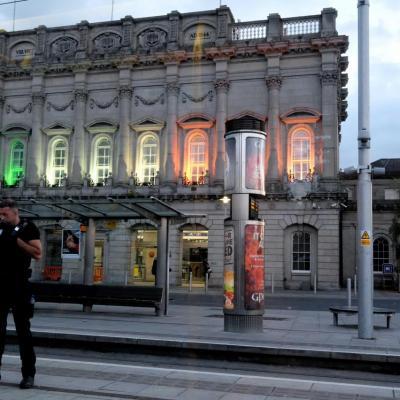 Heuston station, la gare principale de Dublin