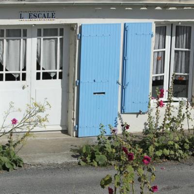 Bleu comme ... les maisons typiques de l'île d'Aix