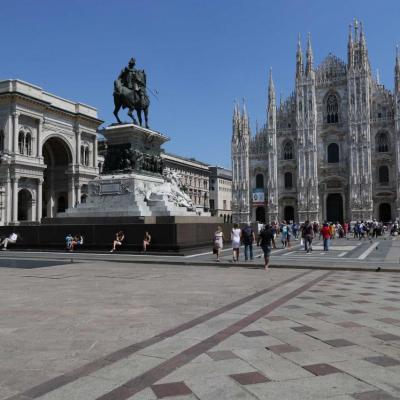 Statue du Roi Vittorio Emanuele II