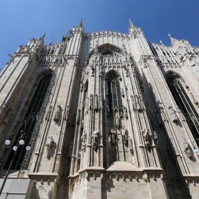 la cathédrale est surnommée le « hérisson de marbre »