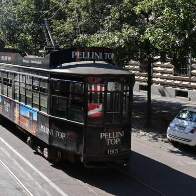 Les Milanais ont su garder et préserver les vieux tramways !