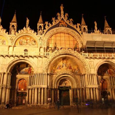 façade de La basilique Saint-Marc (en italien : basilica di San Marco)