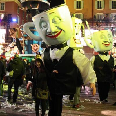 Et le carnaval se termine sur le café !
