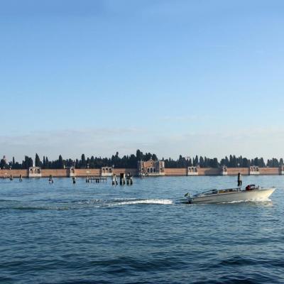 l'île de San Michele, le cimetière de Venise