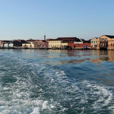 Murano est l'une des plus grandes îles de la lagune