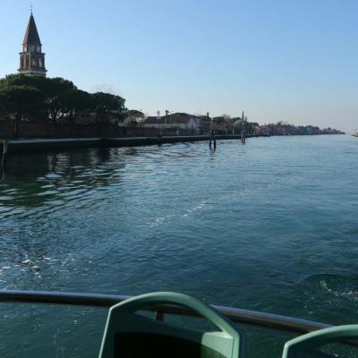 Entre Murano et Burano, il y a quelques petites îles