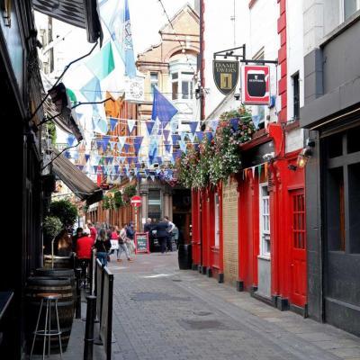 dans les petites rues de Dublin