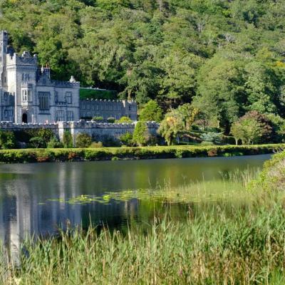 l'abbaye de Kylemore fut à l'origine, en 1871, une résidence familiale