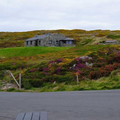 maisons isolée sur cette upper sky road mais avec une vue splendide