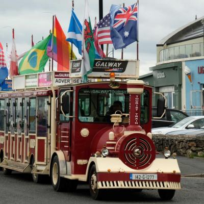 le p'tit train touristique de Galway