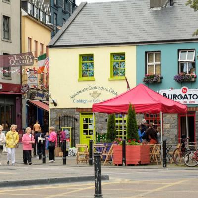 Galway, ville vivante, où il fait bon vivre ! mais pas en août !!