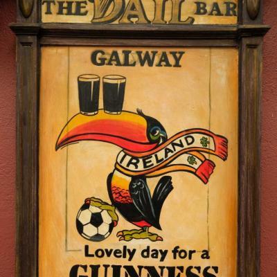 La Guinness est vraiment partout !