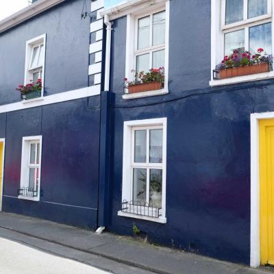 Bleu comme ... cette maison irlandaise à Dingle