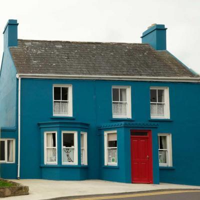 Bleu comme ... cette petite maison irlandaise