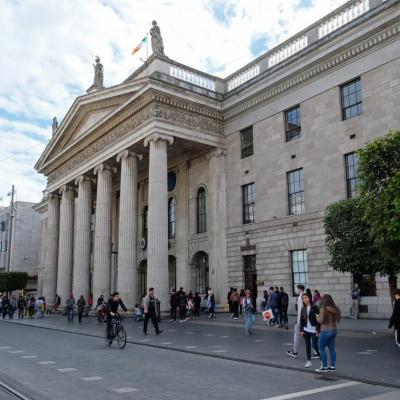 le siège officiel de la Banque postale de Dublin, monument historique