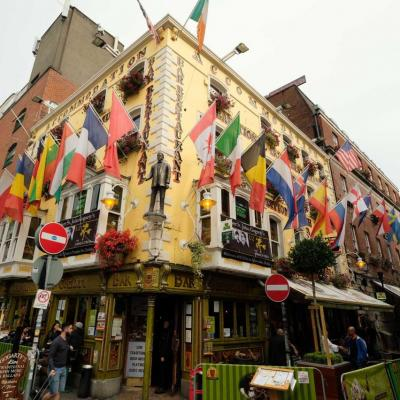 L'Oliver Saint John Gogarty, autre pub mythique du quartier