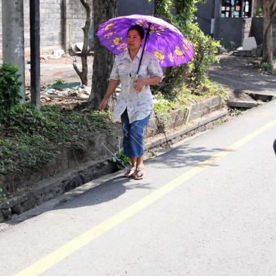 Parapluie ou ombrelle ?