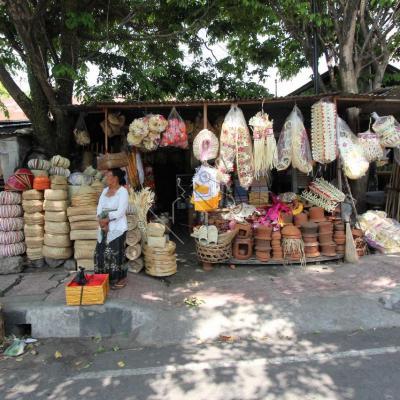 """Les """"marchands"""" de Klung Klung (ancienne capitale de Bali)"""