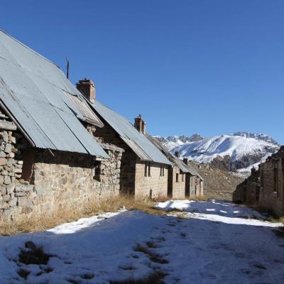 le camp a été construit entre 1896 et 1910